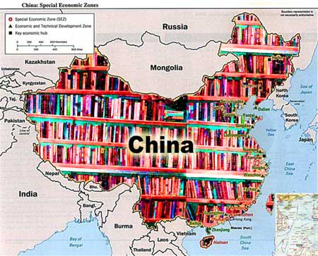 China book map