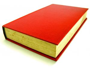 red-book-white-background